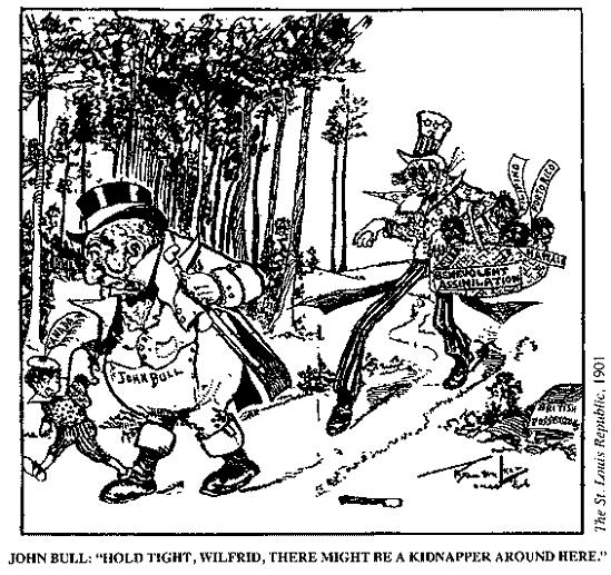 begbie contest society 1st 20 years Political Cartoons From the 1920s manifest destiny john bull uncle sam imperialism cartoons 1900s