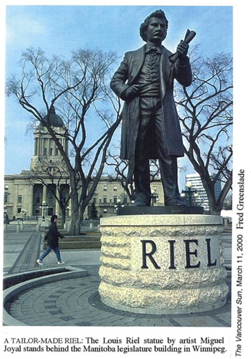 was louis riel a hero or Who was this man to some he was a hero, but to other he was thought of as a traitor louis riel lead two major rebellions known as the red river resistance and the northwest rebellion.